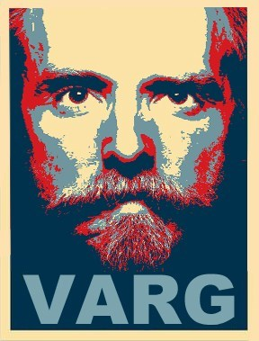 change poster,varg,election