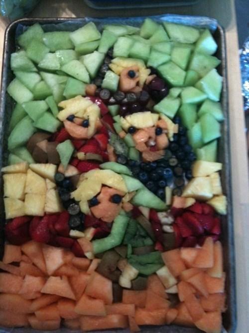 nerdgasm food video games zelda fruit nintendo - 6742499584