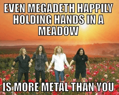 metal megadeth meadow - 6742533632