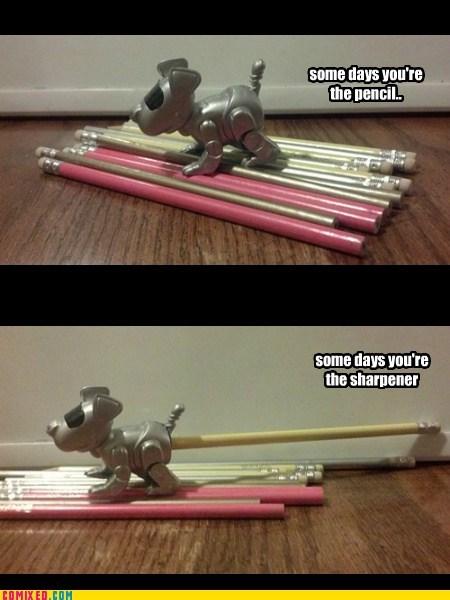 butt life pencil sharpeners desk dogs - 6742832128