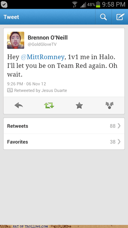 Romney halo video games politics - 6743529472