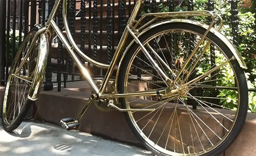 brass bicycle design bike - 6743816704