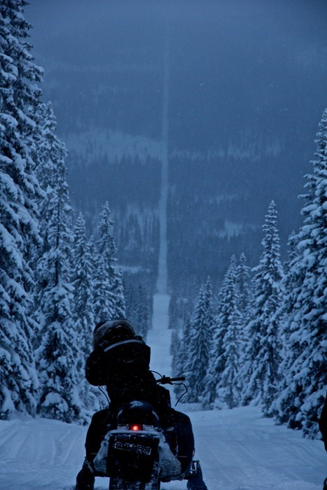 The Hilly Border Between Norway and Sweden