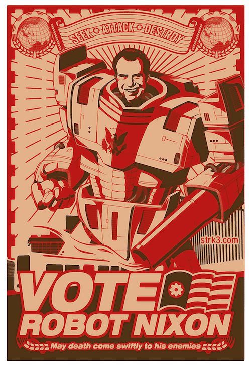 Death,nixon,robot,america,futurama,election