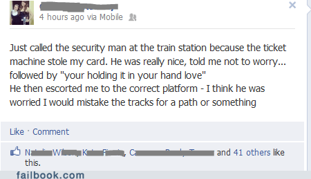 security,train tracks,keycard