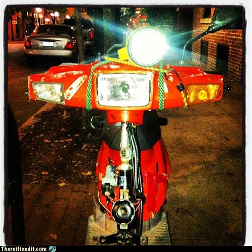 diy headlight,headlight,motorcycle