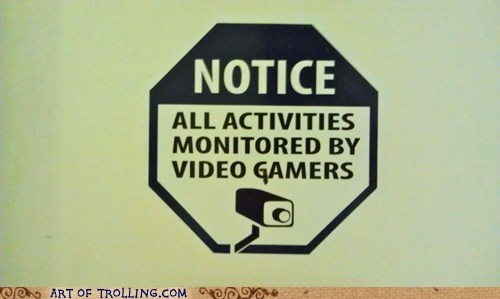 sign IRL video games