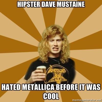 megadeth,metallica,dave mustaine