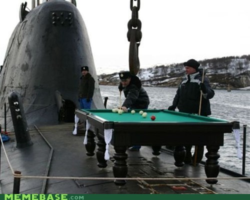 russia,submarine,pool,Meanwhile