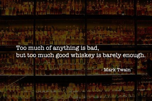 mark twain,whiskey,Wasted Wisdom,barely enough