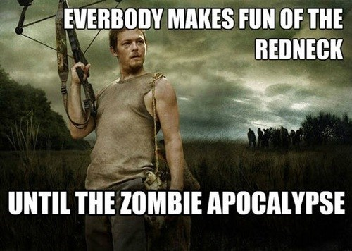 zombie daryl dixon TV rednecks The Walking Dead - 6745502464