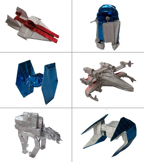 star wars origami Fan Art - 6745511936