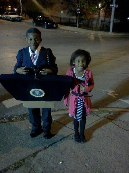 childrens-costumes,barack obama,Michelle Obama