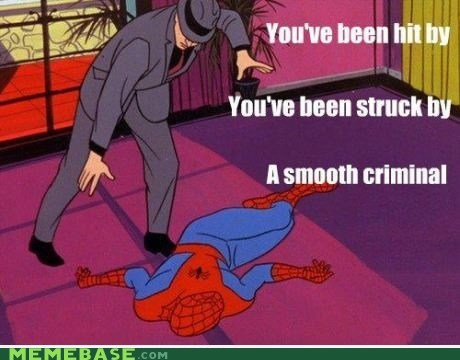 Spider-Man michael jackson smooth criminal - 6745527552