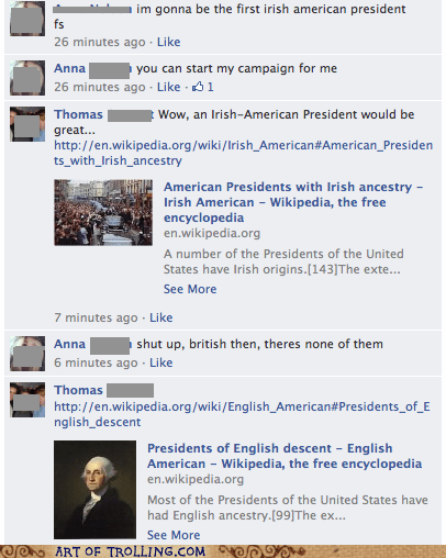 presidents race facebook - 6745571584