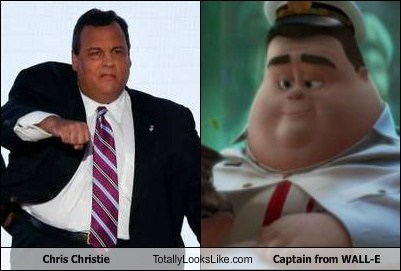 Chris Christie Movie TLL wall.e funny politics