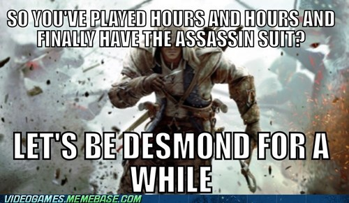 scumbag desmond miles assassins creed assassins-creed-iii