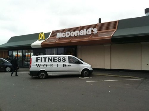fitness McDonald's exercise obesity fitness world - 6745741312
