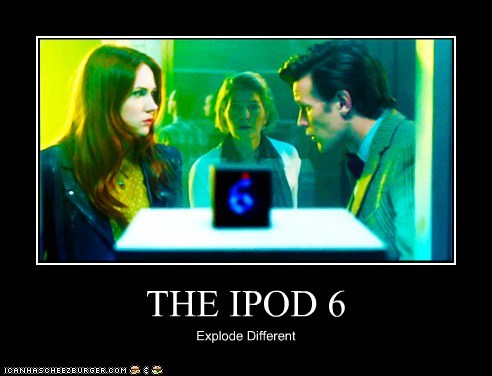 THE IPOD 6 Explode Different