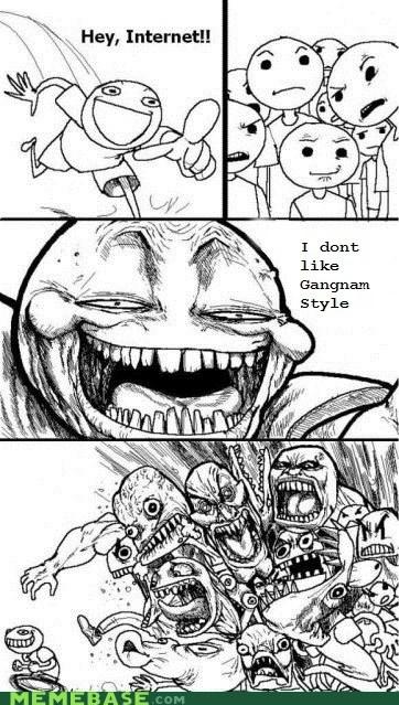 Music,gangam style,internet,troll