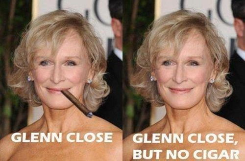 close but no cigar cruella deville 101 dalmatians idioms Glenn Close - 6746294528