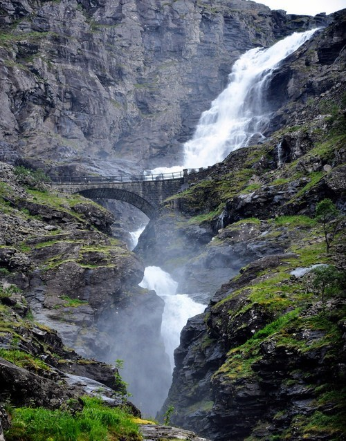 nature,Norway,landscape,waterfall