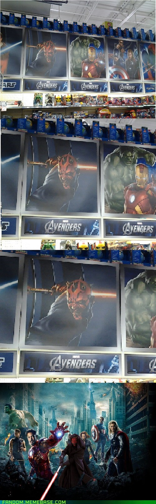wtf star wars The Avengers - 6746839808