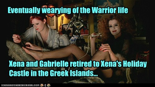 Xena,castle,gabrielle,magenta,patricia quinn,retired,The Rocky Horror Picture Show,columbia,nell campbell