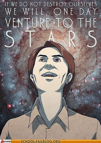 carl sagan,deviant art,birthday,stars