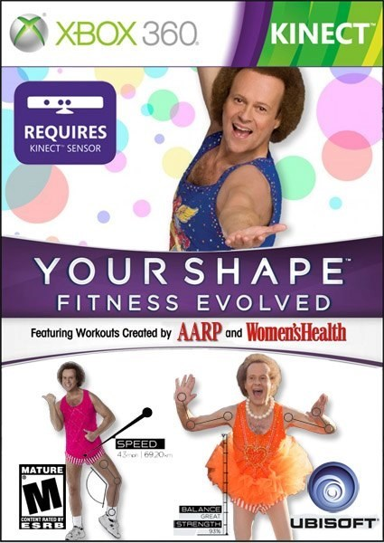 Ubisoft m for mature richard simmons kinect xbox - 6748054272