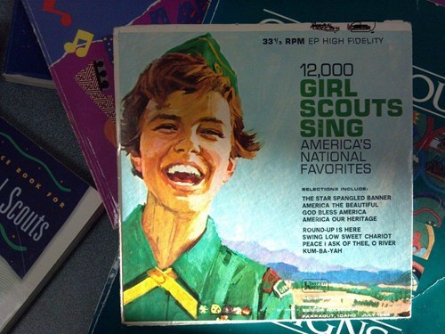 Songs,Music,record,girl scout,time travel