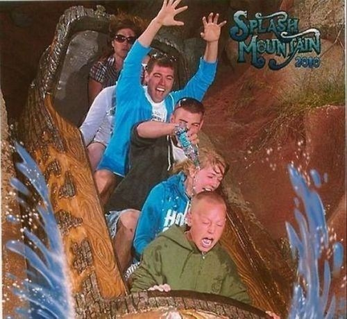 splash mountain,water,trick