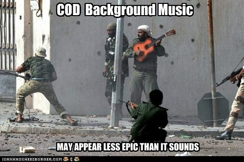 COD Background Music MAY APPEAR LESS EPIC THAN IT SOUNDS