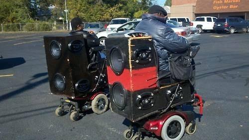 disability dubstep ada accessible disabled wheelchair power chair - 6748415488