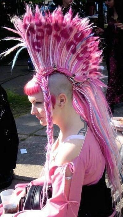 pink,mohawk,Zoidberg