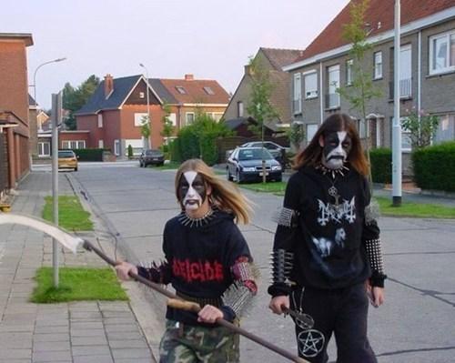 suburbs,metalheads