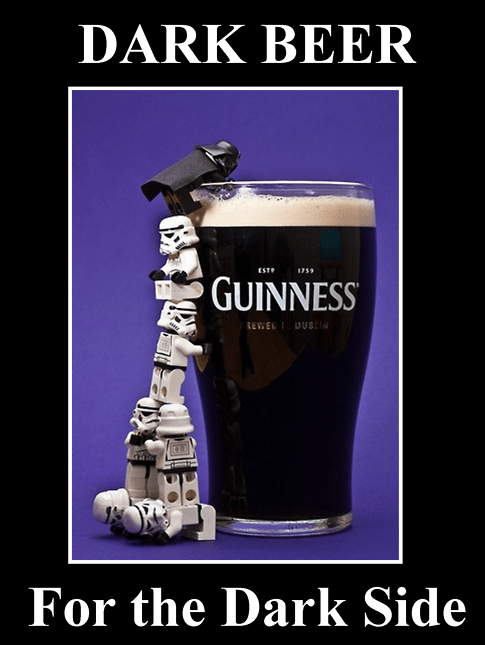 star wars,the best beer,dark side,dark beer