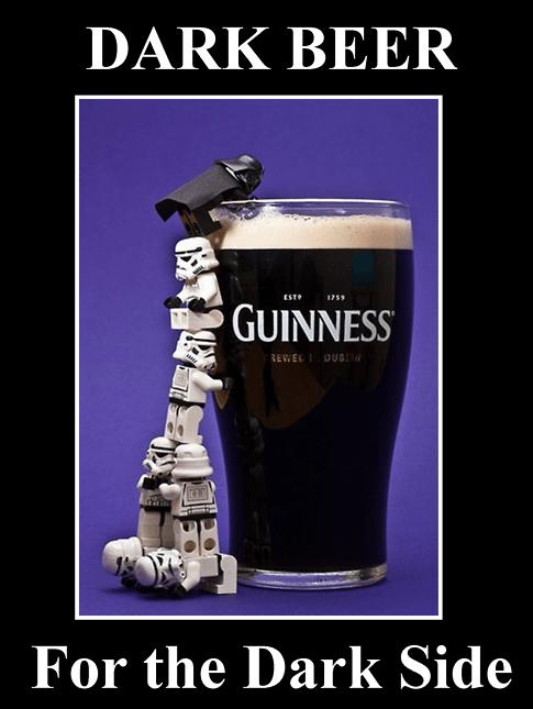 star wars the best beer dark side dark beer - 6748778240