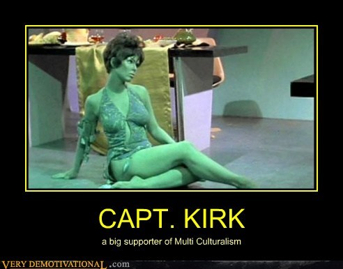 Sexy Ladies,Captain Kirk,Star Trek