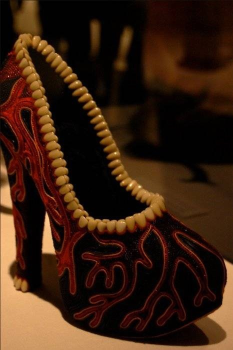 shoes fashion heels teeth style if style could kill - 6748890368
