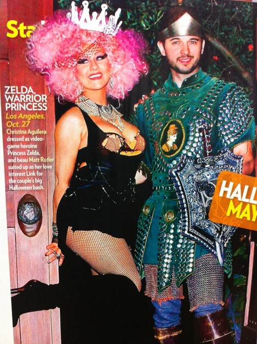 people magazine,christina aguilera,zelda I guess