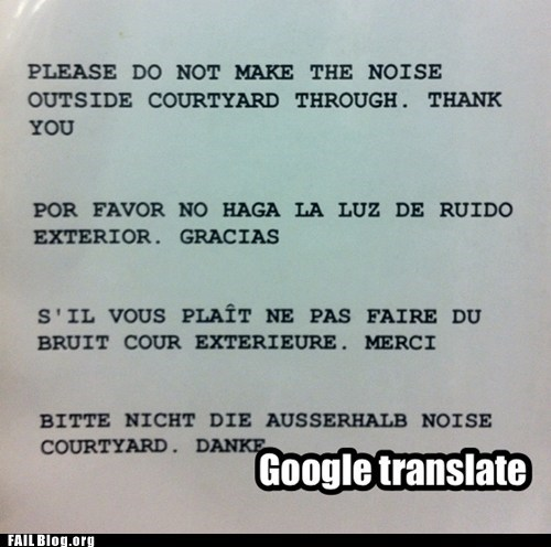 sign engrish google translate translation noise - 6748970496
