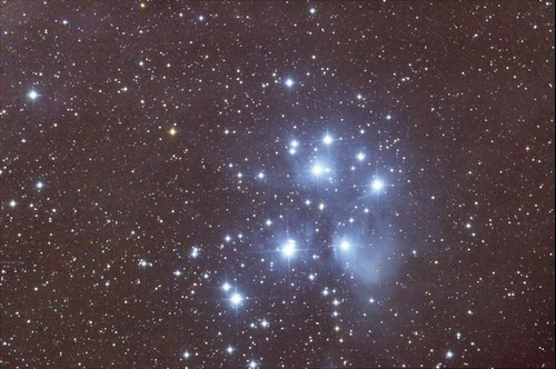 messier 45,stars,bright,night