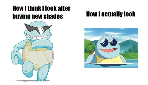 shades Deal With It squirtle nerd - 6749086976