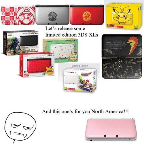 3DS north america Japan nintendo - 6749097728