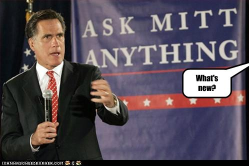 speechless,ask me anything,Mitt Romney,new,anything but that,confused