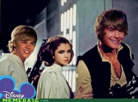 disney,zac efron,star wars,kids,justin bieber