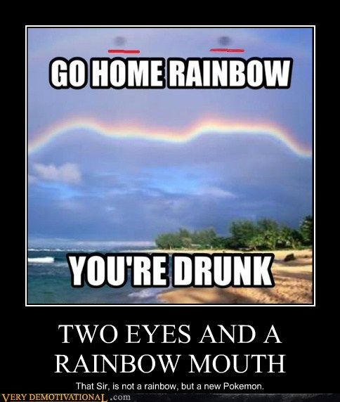 Pokémon drunk rainbow - 6750215168