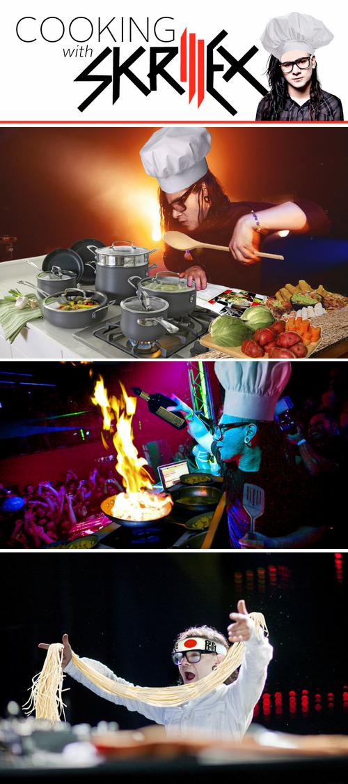skrillex cooking dubstep - 6751249664