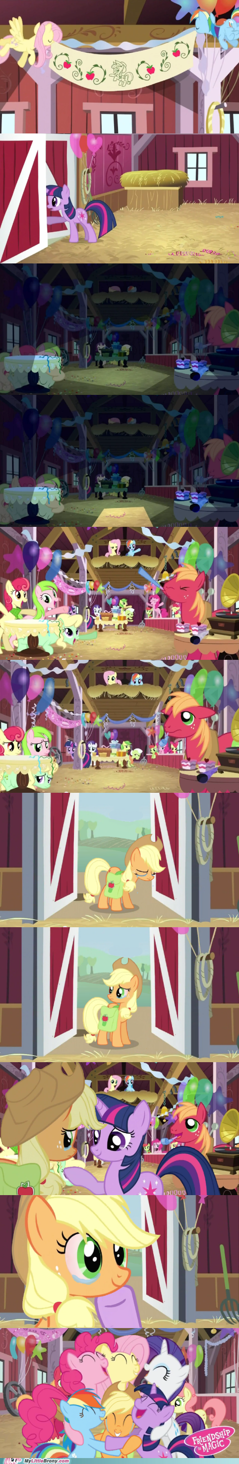 applejack friends lovely comic